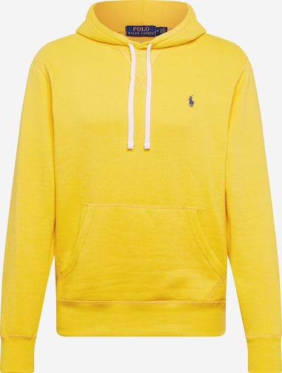 POLO RALPH LAUREN Sweatshirt in de kleur Navy / Geel / Wit, Productweergave