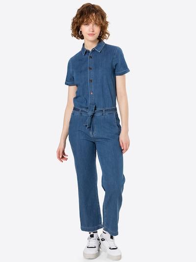 LTB Jumpsuit in de kleur Blauw denim, Modelweergave