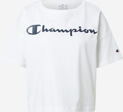 Champion Authentic Athletic Apparel Majica u noćno plava / bijela, Pregled proizvoda