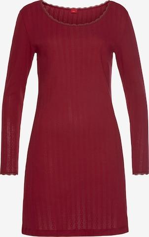 Camicia da notte di s.Oliver in rosso