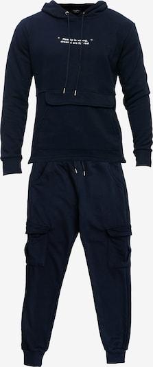 Tom Barron Jogginganzug in blau, Produktansicht