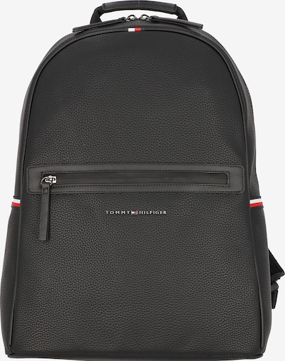 TOMMY HILFIGER Backpack in Navy / Fire red / Black / White, Item view