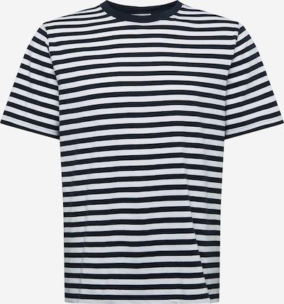 WOOD WOOD Shirt 'Sami' in Marine / White: Frontal view