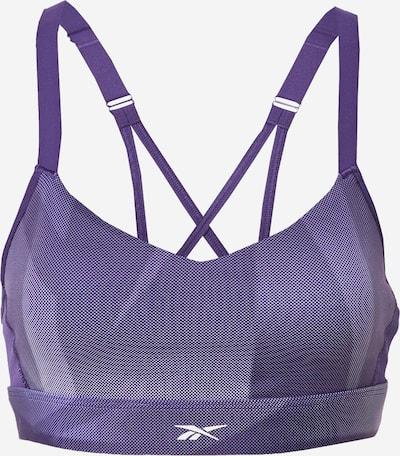 REEBOK Sujetador deportivo en lila claro / lila oscuro / blanco, Vista del producto