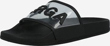 SUPERGA Sandals in Black