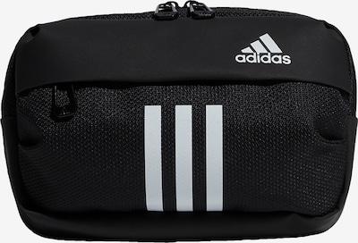 ADIDAS PERFORMANCE Bolsa de deporte en negro / blanco, Vista del producto