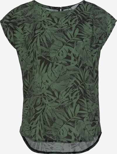 TAMARIS Blouse in Dark green / Black, Item view