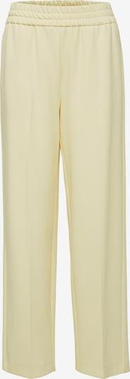 SELECTED FEMME Pantalon 'Malli' in de kleur Pasteelgeel, Productweergave
