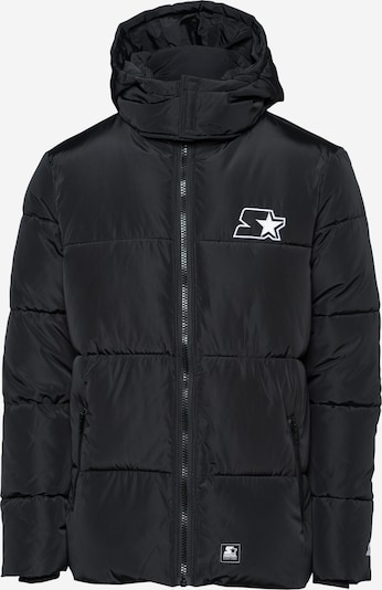 Starter Black Label Winterjacke in schwarz, Produktansicht