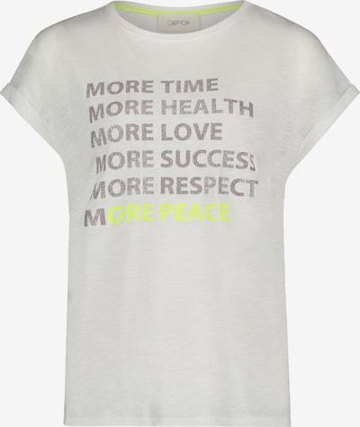 Cartoon Shirt in grau / weiß, Produktansicht