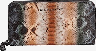 Liebeskind Berlin Wallet 'Alicia' in Dark grey / Apricot / Light pink / Fire red / Black, Item view