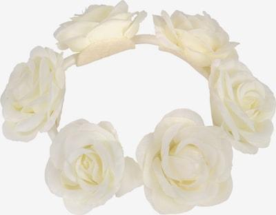Six Haargummi in weiß, Produktansicht
