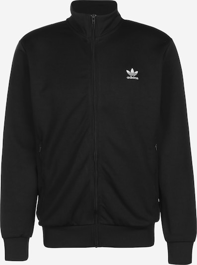 ADIDAS ORIGINALS Trainingsjacke 'Essential TT' in schwarz / weiß, Produktansicht