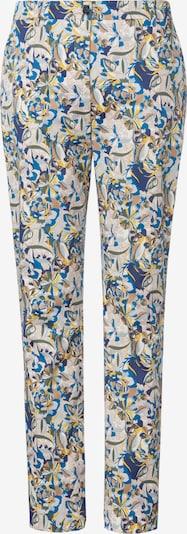Emilia Lay Broek in de kleur Blauw / Geel, Productweergave