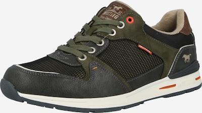 MUSTANG Sneaker in braun / khaki / tanne, Produktansicht