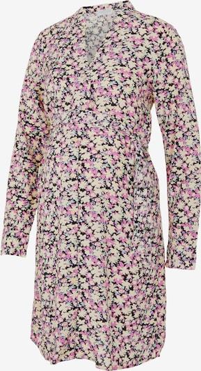 Pieces Maternity Kleid 'Carly' in hellblau / lila / flieder / schwarz / weiß, Produktansicht