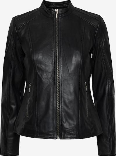 Fransa Between-Season Jacket 'FRBALEATHER' in Black, Item view