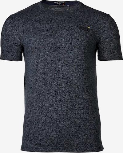 Superdry Shirt in de kleur Blauw gemêleerd / Chocoladebruin / Geel, Productweergave