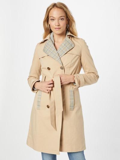NAF NAF Mantel 'BINEO' in beige / grau, Modelansicht