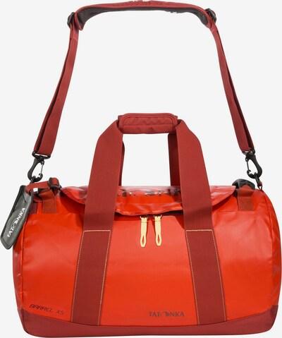 TATONKA Reisetasche 'Barrel' in gelb / dunkelgrau / rot / orangerot, Produktansicht
