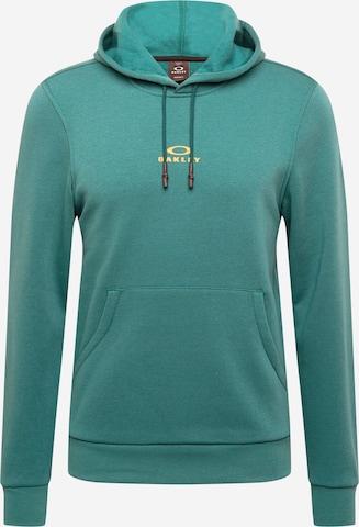 OAKLEY Sportsweatshirt 'NEW BARK' i grønn