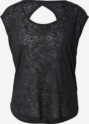 Marika Performance Shirt 'DIAMOND' in Black