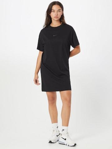 Nike Sportswear Jurk in Zwart