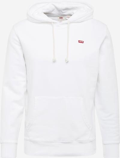 LEVI'S Sweatshirt in de kleur Rood / Offwhite, Productweergave