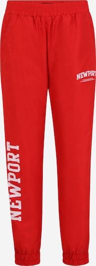 Tally Weijl Broek in de kleur Rood / Wit, Productweergave
