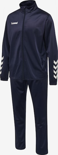 Hummel Tracksuit in marine blue / White, Item view