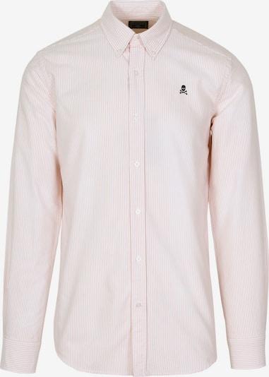 Scalpers Hemd in pastellorange / weiß, Produktansicht