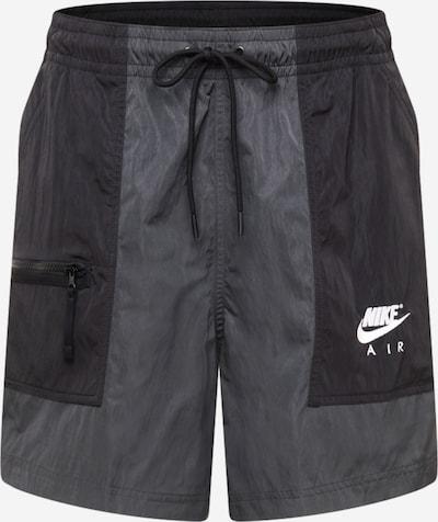 Nike Sportswear Pantalon en anthracite / noir / blanc, Vue avec produit