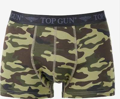 TOP GUN Boxershorts  ' TGUW001 ' in braun / apfel, Produktansicht