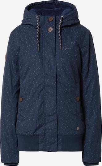 mazine Winterjas in de kleur Navy / Lila, Productweergave