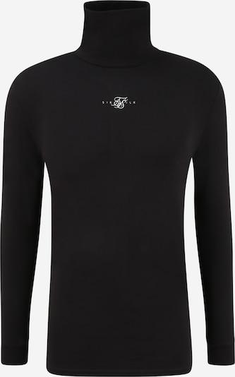 SikSilk T-Shirt en noir / blanc, Vue avec produit