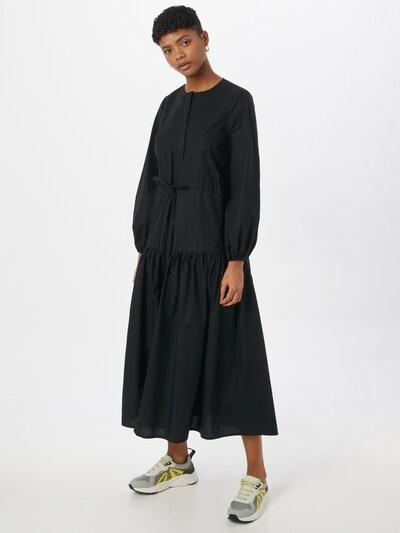IVY & OAK Košeľové šaty - čierna: Pohľad spredu