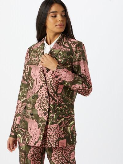 SCOTCH & SODA Blazer en vert / rose, Vue avec modèle