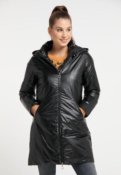 MYMO Wintermantel in schwarz, Modelansicht