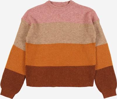 KIDS ONLY Pullover 'SANDY' in beige / braun / honig / altrosa, Produktansicht