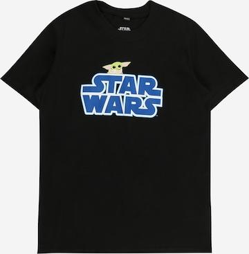 T-Shirt 'Star Wars' Mister Tee en noir