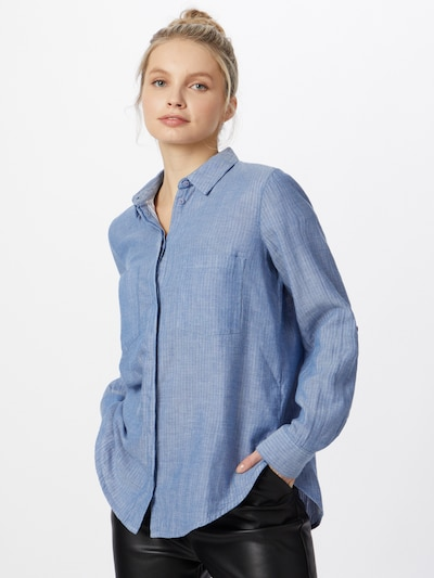 TOM TAILOR Bluse in blau, Modelansicht