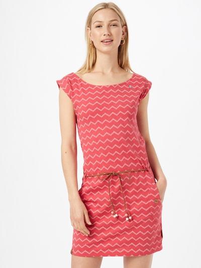 Ragwear Vestido de verano en rojo / blanco, Vista del modelo