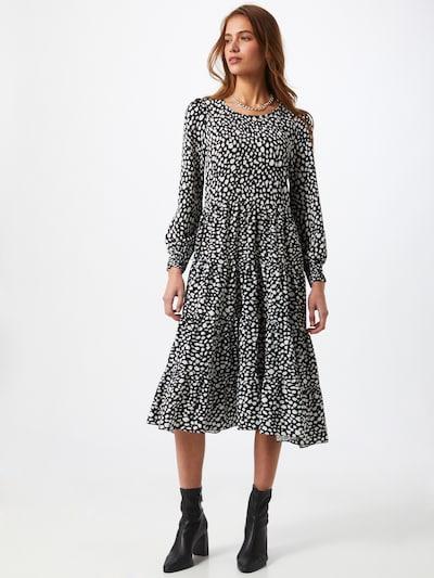 Hailys Kleid 'Madison' in schwarz / weiß, Modelansicht