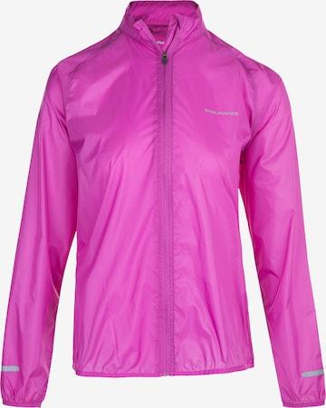 ENDURANCE Athletic Jacket 'IMMIE W' in Purple