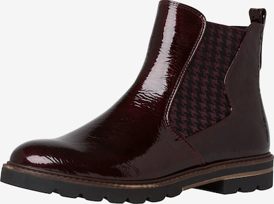 MARCO TOZZI Chelsea Boots in dunkelbraun: Frontalansicht
