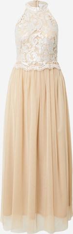 VILA Kleid in Beige