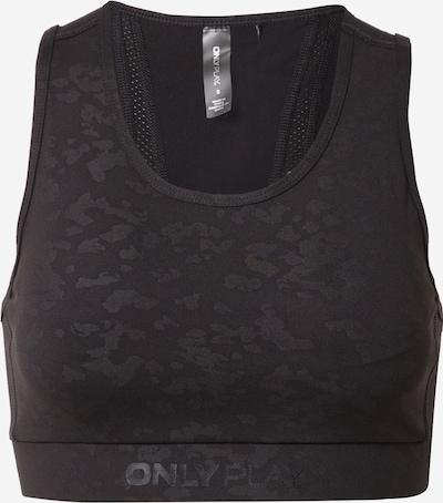 ONLY PLAY Sport bh 'MASAR' in de kleur Zwart / Zwart gemêleerd, Productweergave