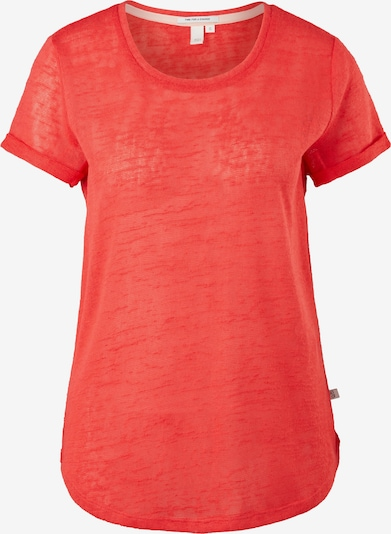Q/S designed by T-Shirt in rot, Produktansicht