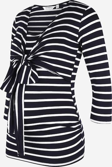 Dorothy Perkins Maternity Shirt in navy / weiß, Produktansicht