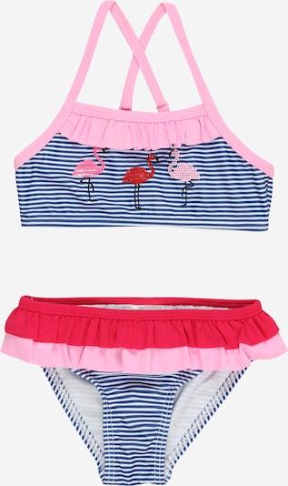 STACCATO Bikini in navy / rosa / rot / weiß, Produktansicht